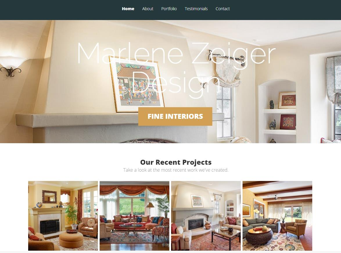 Website Design: Zeiger Design