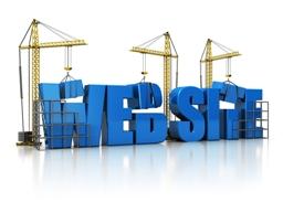 interior design website build