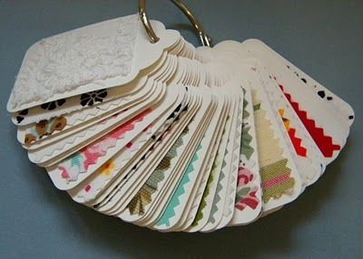 fabric swatches for welcome packets 2