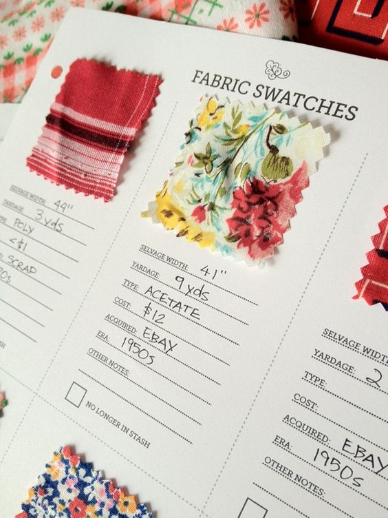 fabric swatches for welcome packets 3