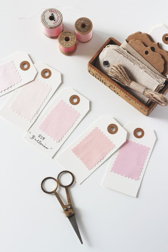 fabric swatches for welcome packets 4