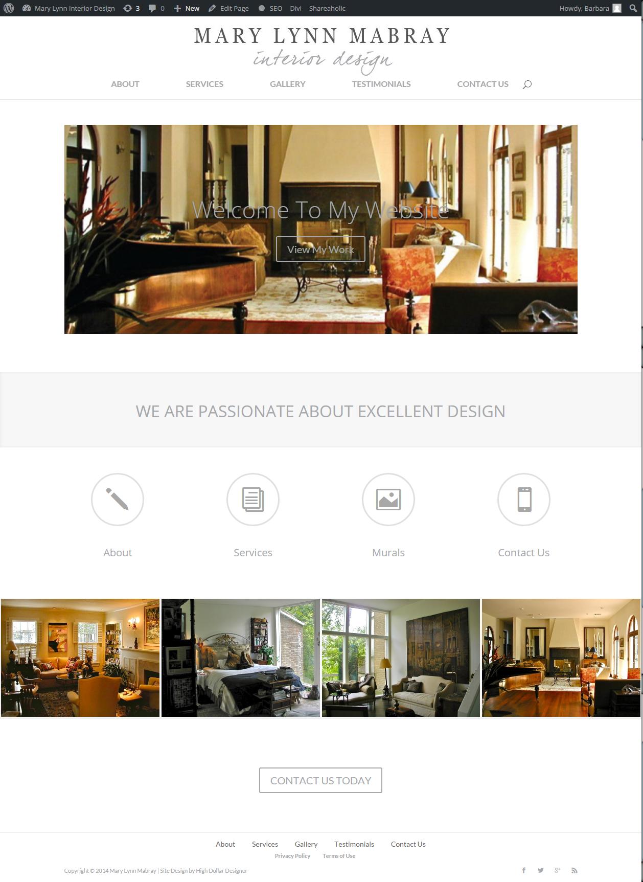 Website Design: Mary Lynn Mabray