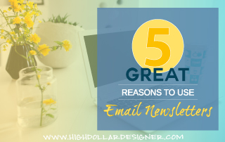 5 Great Reasons to Use Email Newsletters